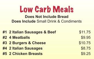 low carb meals bensenville elmhurst IL